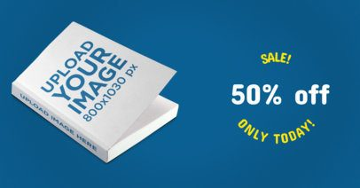 Facebook Ad - Book Lying on a Solid Surface a16554