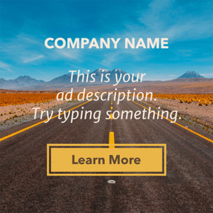 Online Banner Maker - Title with Subtitle and Button a16610