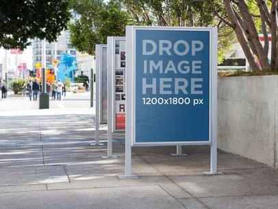 Ad On Street