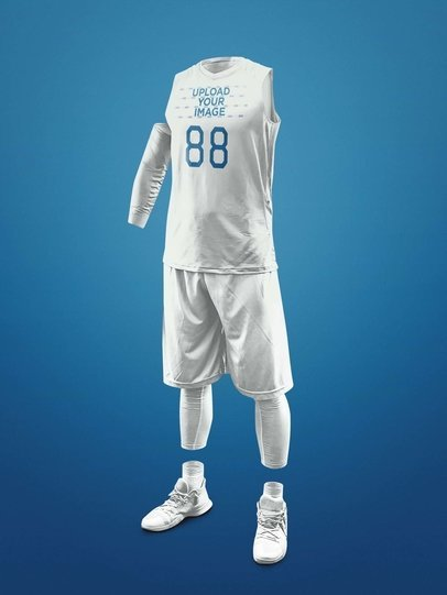 e2128abd36cf Basketball Jersey Maker - Ghosted Basketball Uniform