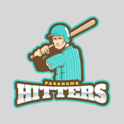 Baseball Logo Maker 172a