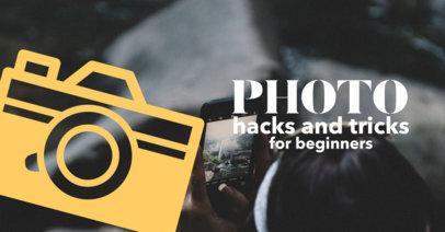 Social Media Image Maker - YouTube Banner Template a563