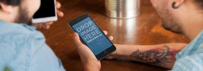 iPhone 6 Plus Informal Meeting Wide
