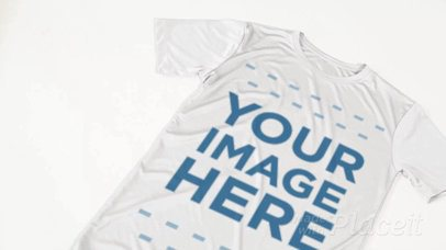 Custom Soccer Jerseys - Video of a Jersey Lying on a White Floor a16822