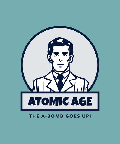 Atomic Age Design Maker for Retro Shirts a13