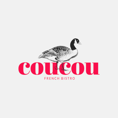 Restaurant Logo Maker with Stylish Animal Graphics 973