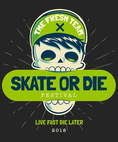 Skater Tshirt Design Maker a4