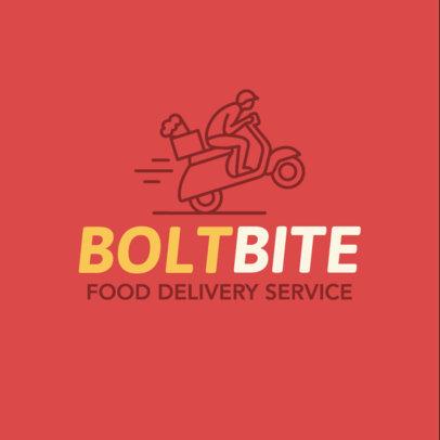 Food Delivery Logo Maker a1030