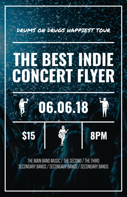Online Flyer Maker for Concert Flyers a46