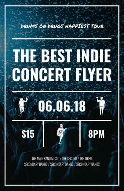Online Flyer Maker for Indie Music Concerts 46