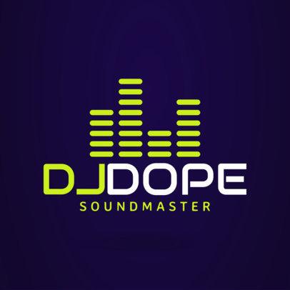 DJ Logo Maker a1072