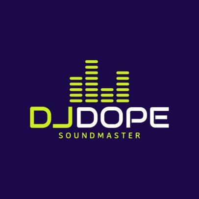 Simple DJ Logo Maker a1072