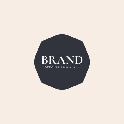 Clothing Brand Logo Maker a1053