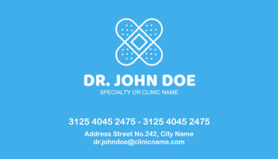 placeit doctor business card maker - Doctor Business Card