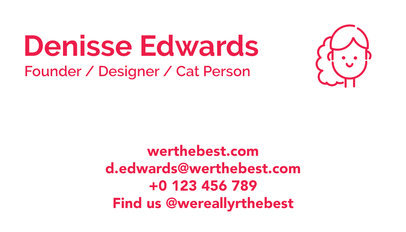 Engineer Business Card Maker a77