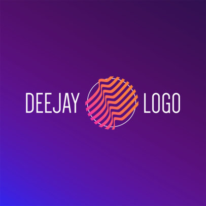 DJ Logo Maker - Geometric Graphics a1081