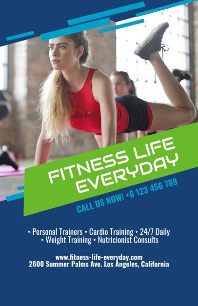 Fitness Flyer Maker a106
