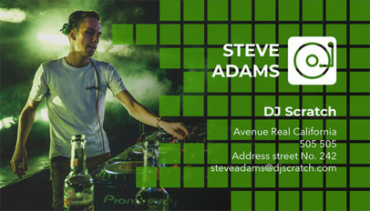 DJ Business Card Maker a115