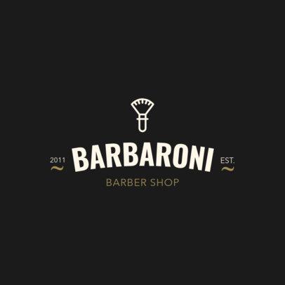Barber Logo Maker a1119