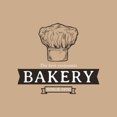 Bakery Logo Maker with Ink Drawings a1113