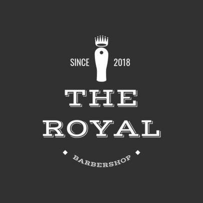 Barber Shop Logo Maker a1123