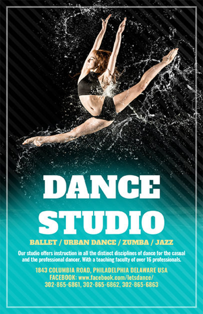 placeit online flyer template for swing dance class