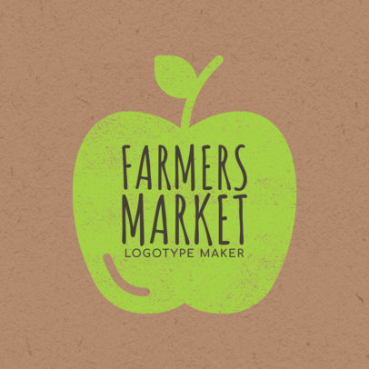 Farmers Market Logo Maker - Stamp Graphics a1125