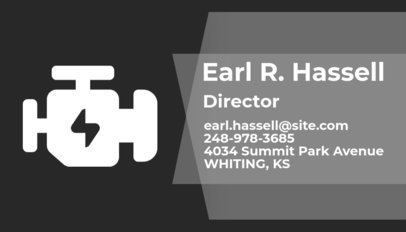 Automotive Business Card Maker a170
