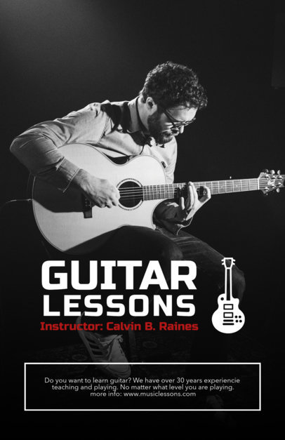 Music Lessons Flyer Maker a157