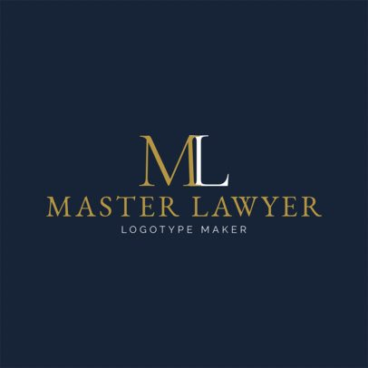 Law Firm Logo Maker a1096