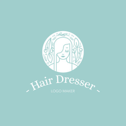 Logo Maker for Hair Stylists or Hair Salons a1153