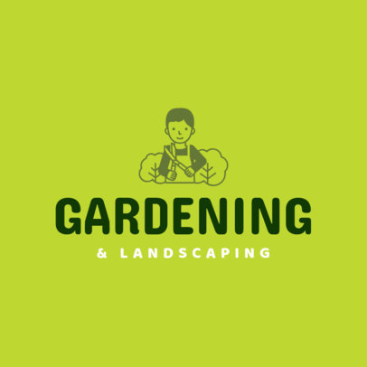 Landscaping Logo Maker a1166