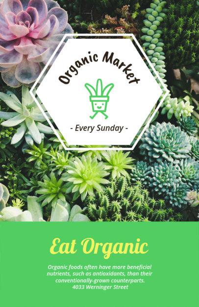 Online Flyer Maker for Organic Market Flyers a194