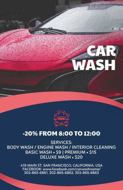 Flyer Maker for Car Wash Flyers a188