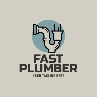 Plumbing Logo Maker a1167