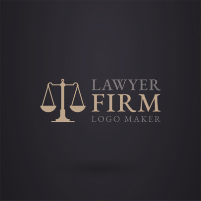 Lawyer Logo Maker a1194