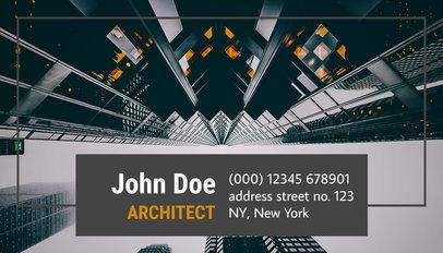Architect Business Card Maker a182