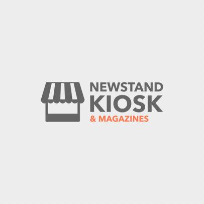 Newsstand Logo Maker a1182