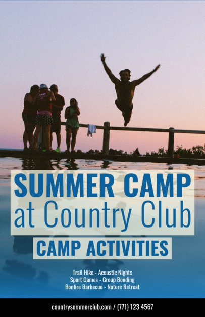 Flyer Maker for Summer Camp Flyers a222