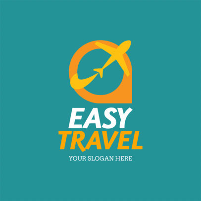 Travel Agency Logo Maker a1148