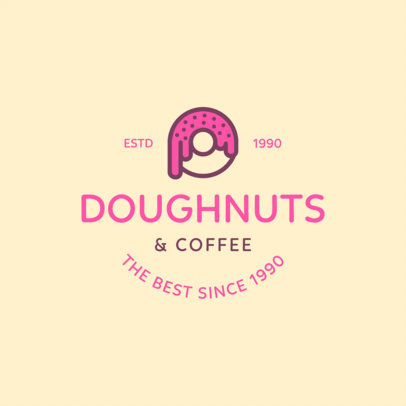 Doughnut Shop Logo Maker a1232