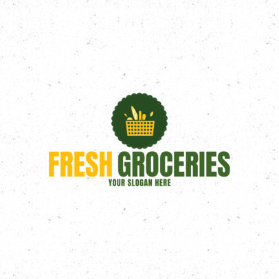 Grocery Store Logo Maker a1190
