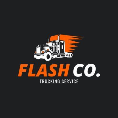 Trucking Company Logo Maker a1181