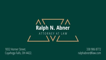 Professional Business Card Maker a258