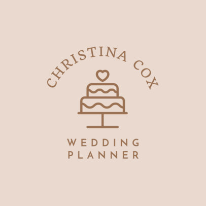Wedding Planner Logo Maker - Big Graphic a1243