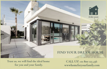Flyer Maker to Design Horizontal Real Estate Flyers a257