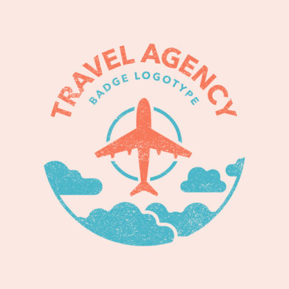 Travel Agency Logo Maker with Travel Graphics a1202