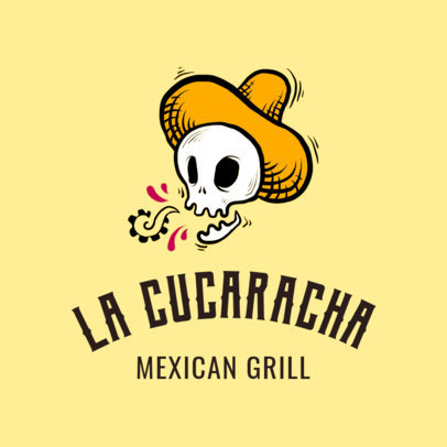 Mexican Restaurant Logo Maker a1195