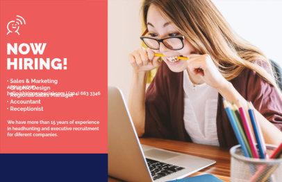 Recruitment Agency Flyer Maker a297