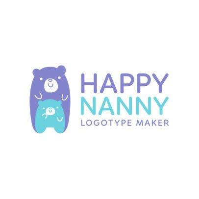 Babysitting Logo Maker a1198